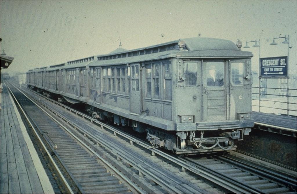 (205k, 1024x668)<br><b>Country:</b> United States<br><b>City:</b> New York<br><b>System:</b> New York City Transit<br><b>Line:</b> BMT Fulton<br><b>Location:</b> Crescent Street <br><b>Car:</b> BMT C 1518 <br><b>Collection of:</b> Joe Testagrose<br><b>Viewed (this week/total):</b> 1 / 3182