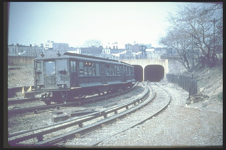 (131k, 768x512)<br><b>Country:</b> United States<br><b>City:</b> New York<br><b>System:</b> New York City Transit<br><b>Line:</b> BMT Culver Line<br><b>Location:</b> 9th Avenue (Lower Level) <br><b>Route:</b> Culver Shuttle<br><b>Car:</b> BMT-Low V 4585 <br><b>Collection of:</b> Joe Testagrose<br><b>Notes:</b> Modified for use on BMT<br><b>Viewed (this week/total):</b> 0 / 8196