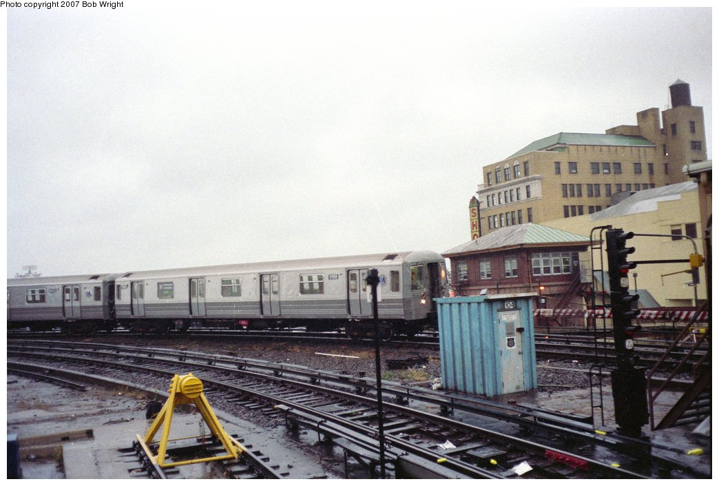 (142k, 1044x705)<br><b>Country:</b> United States<br><b>City:</b> New York<br><b>System:</b> New York City Transit<br><b>Location:</b> Coney Island/Stillwell Avenue<br><b>Route:</b> D<br><b>Car:</b> R-68A (Kawasaki, 1988-1989)  5158 <br><b>Photo by:</b> Bob Wright<br><b>Date:</b> 11/10/1991<br><b>Viewed (this week/total):</b> 0 / 2676
