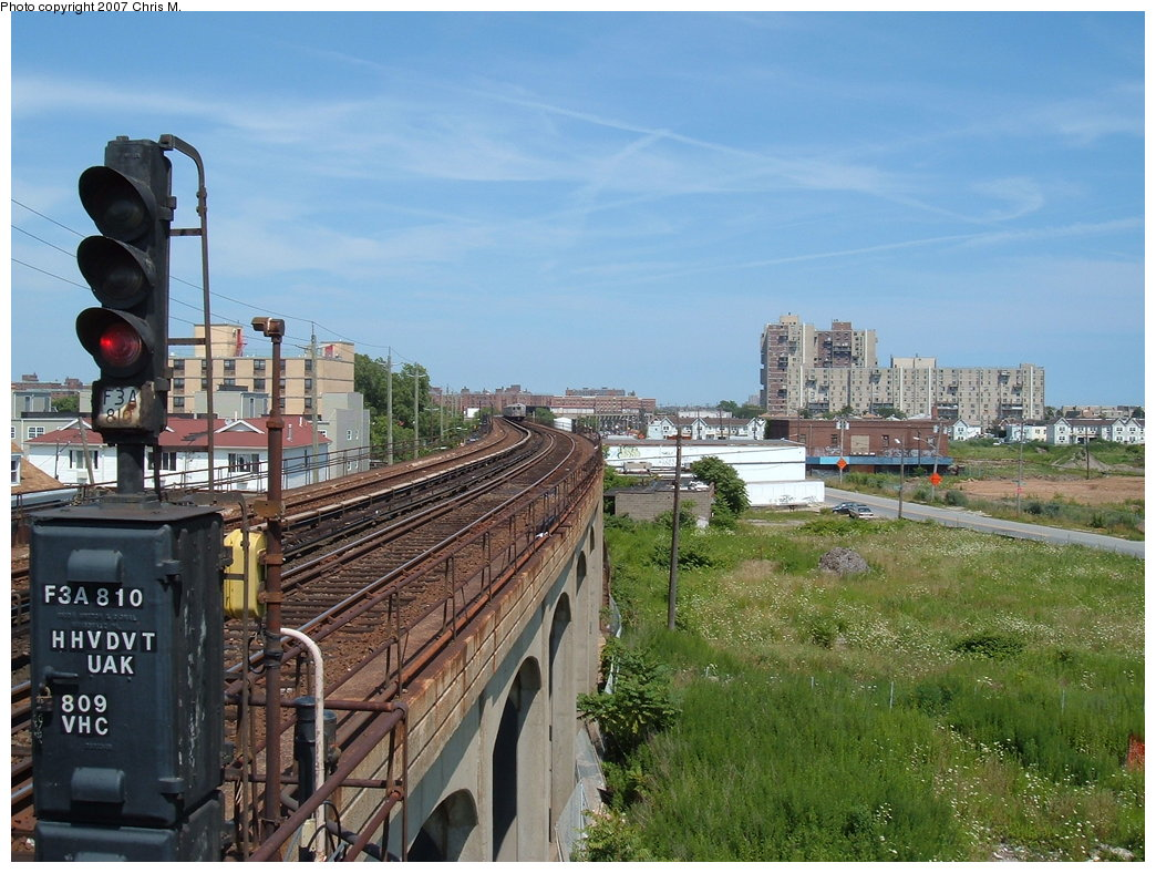 (208k, 1044x788)<br><b>Country:</b> United States<br><b>City:</b> New York<br><b>System:</b> New York City Transit<br><b>Line:</b> IND Rockaway<br><b>Location:</b> Beach 67th Street/Gaston Avenue <br><b>Photo by:</b> Chris M.<br><b>Date:</b> 7/27/2007<br><b>Viewed (this week/total):</b> 0 / 1179