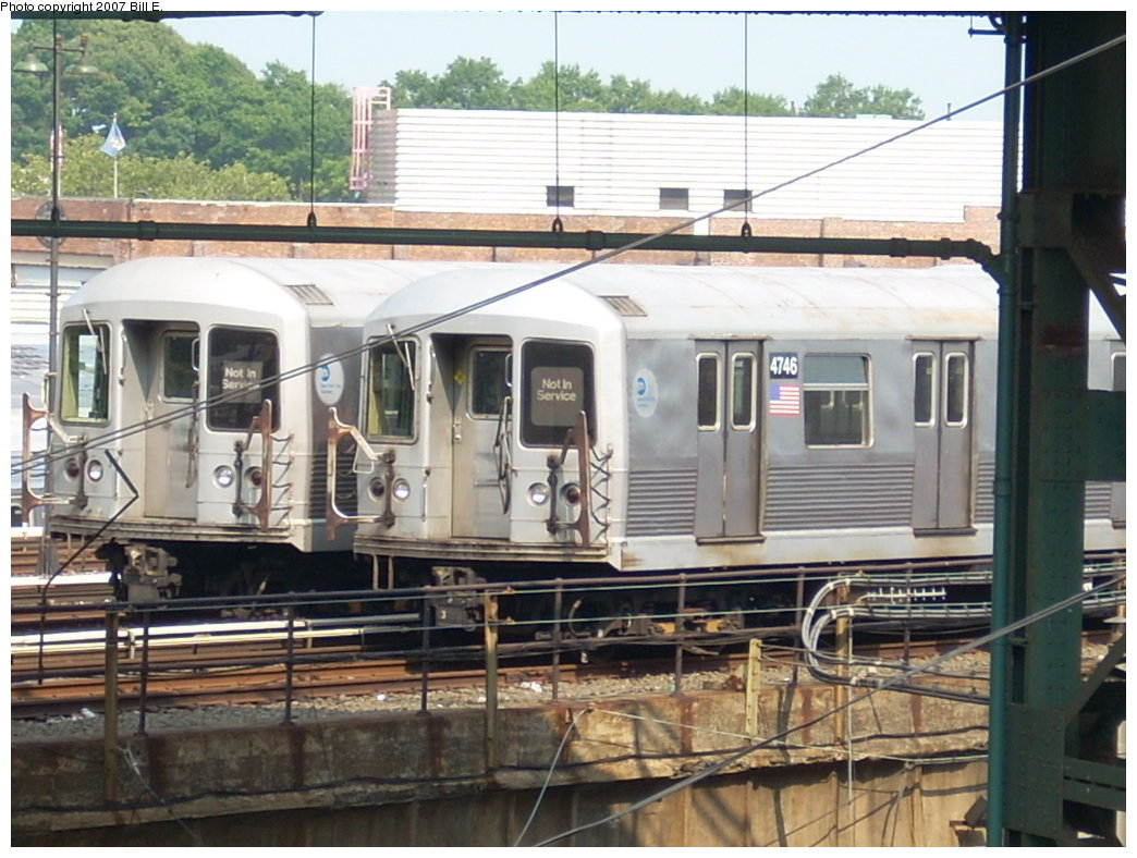 (214k, 1044x788)<br><b>Country:</b> United States<br><b>City:</b> New York<br><b>System:</b> New York City Transit<br><b>Location:</b> East New York Yard/Shops<br><b>Car:</b> R-42 (St. Louis, 1969-1970)  4746 <br><b>Photo by:</b> Bill E.<br><b>Date:</b> 7/28/2007<br><b>Viewed (this week/total):</b> 0 / 1594