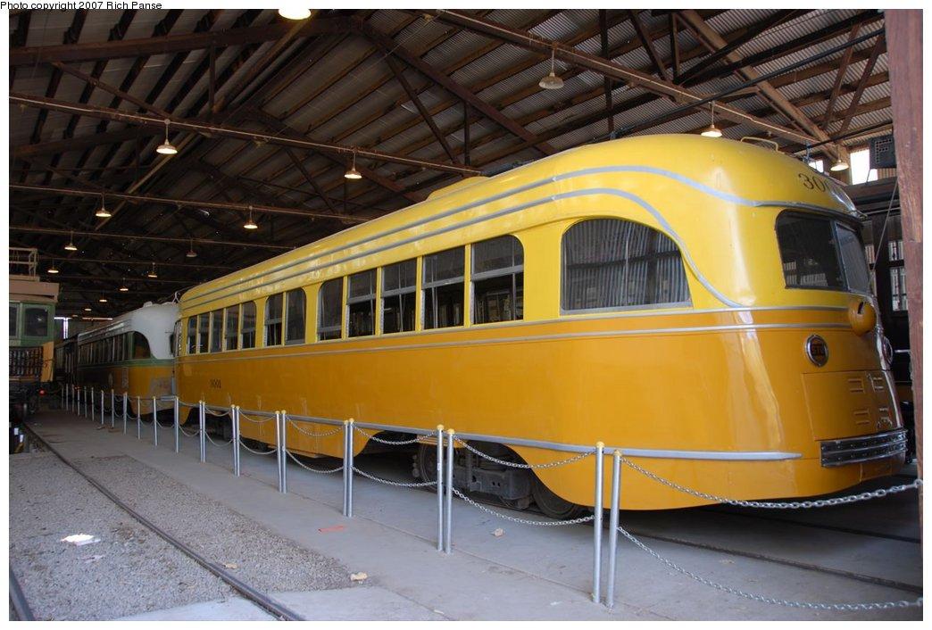 (171k, 1044x706)<br><b>Country:</b> United States<br><b>City:</b> Perris, CA<br><b>System:</b> Orange Empire Railway Museum <br><b>Car:</b>  3001 <br><b>Photo by:</b> Richard Panse<br><b>Date:</b> 6/23/2007<br><b>Viewed (this week/total):</b> 2 / 1119