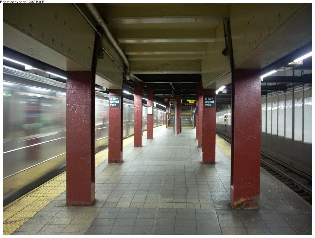(177k, 1044x788)<br><b>Country:</b> United States<br><b>City:</b> New York<br><b>System:</b> New York City Transit<br><b>Line:</b> IRT Flushing Line<br><b>Location:</b> 5th Avenue <br><b>Photo by:</b> Bill E.<br><b>Date:</b> 8/5/2007<br><b>Viewed (this week/total):</b> 4 / 2057