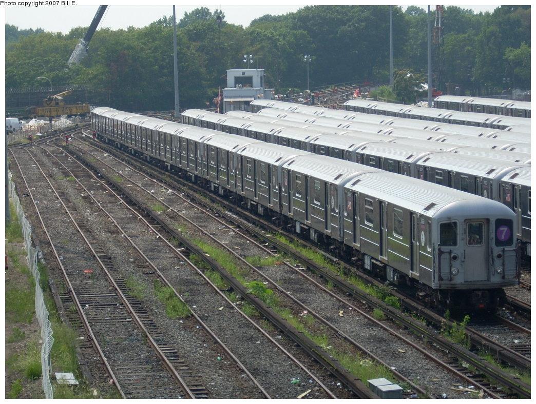(258k, 1044x788)<br><b>Country:</b> United States<br><b>City:</b> New York<br><b>System:</b> New York City Transit<br><b>Location:</b> Corona Shops<br><b>Car:</b> R-62A (Bombardier, 1984-1987)   <br><b>Photo by:</b> Bill E.<br><b>Date:</b> 8/4/2007<br><b>Viewed (this week/total):</b> 0 / 1949