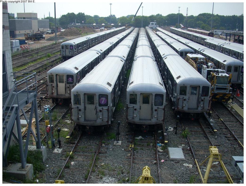 (244k, 1044x788)<br><b>Country:</b> United States<br><b>City:</b> New York<br><b>System:</b> New York City Transit<br><b>Location:</b> Corona Shops<br><b>Car:</b> R-62A (Bombardier, 1984-1987)   <br><b>Photo by:</b> Bill E.<br><b>Date:</b> 8/4/2007<br><b>Viewed (this week/total):</b> 0 / 2392