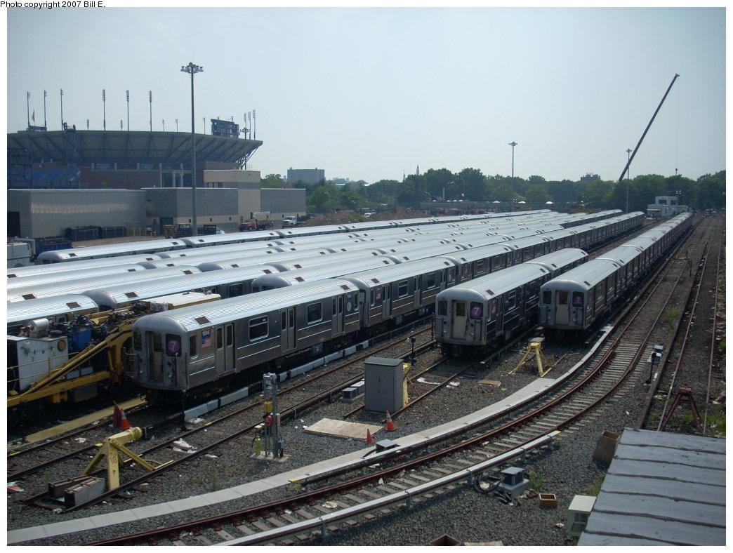 (214k, 1044x788)<br><b>Country:</b> United States<br><b>City:</b> New York<br><b>System:</b> New York City Transit<br><b>Location:</b> Corona Shops<br><b>Car:</b> R-62A (Bombardier, 1984-1987)  1996 <br><b>Photo by:</b> Bill E.<br><b>Date:</b> 8/4/2007<br><b>Viewed (this week/total):</b> 2 / 2039