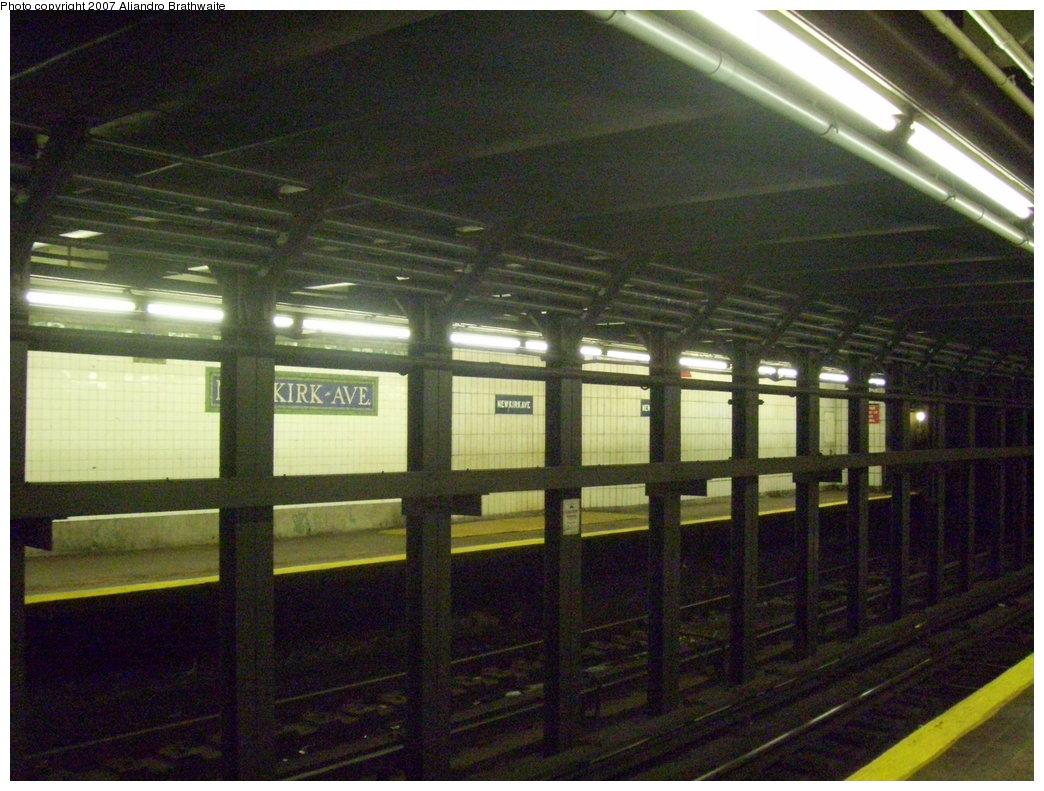 (204k, 1044x791)<br><b>Country:</b> United States<br><b>City:</b> New York<br><b>System:</b> New York City Transit<br><b>Line:</b> IRT Brooklyn Line<br><b>Location:</b> Newkirk Avenue <br><b>Photo by:</b> Aliandro Brathwaite<br><b>Date:</b> 8/3/2007<br><b>Viewed (this week/total):</b> 1 / 2542