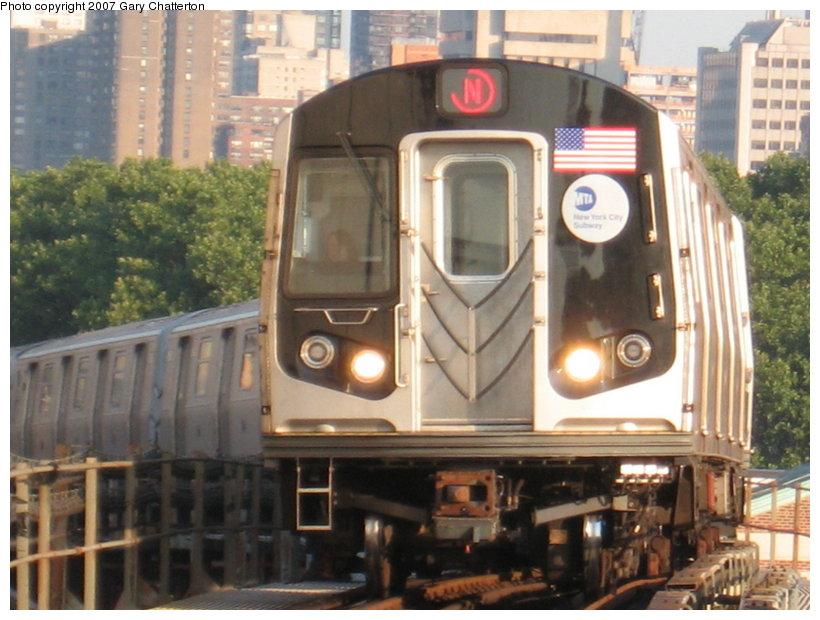 (114k, 820x620)<br><b>Country:</b> United States<br><b>City:</b> New York<br><b>System:</b> New York City Transit<br><b>Line:</b> BMT Astoria Line<br><b>Location:</b> Queensborough Plaza <br><b>Route:</b> N<br><b>Car:</b> R-160B (Kawasaki, 2005-2008)  8723 <br><b>Photo by:</b> Gary Chatterton<br><b>Date:</b> 8/1/2007<br><b>Viewed (this week/total):</b> 0 / 2055