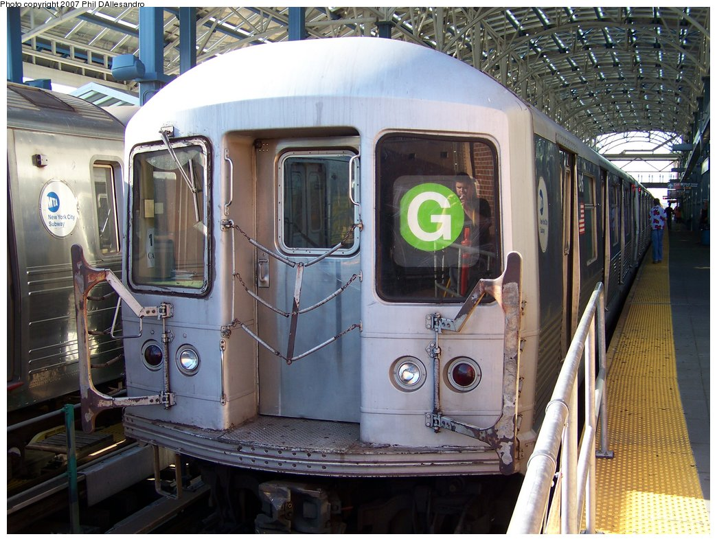 (214k, 1044x788)<br><b>Country:</b> United States<br><b>City:</b> New York<br><b>System:</b> New York City Transit<br><b>Location:</b> Coney Island/Stillwell Avenue<br><b>Route:</b> G<br><b>Car:</b> R-42 (St. Louis, 1969-1970)  4916 <br><b>Photo by:</b> Philip D'Allesandro<br><b>Date:</b> 8/11/2007<br><b>Viewed (this week/total):</b> 1 / 2112