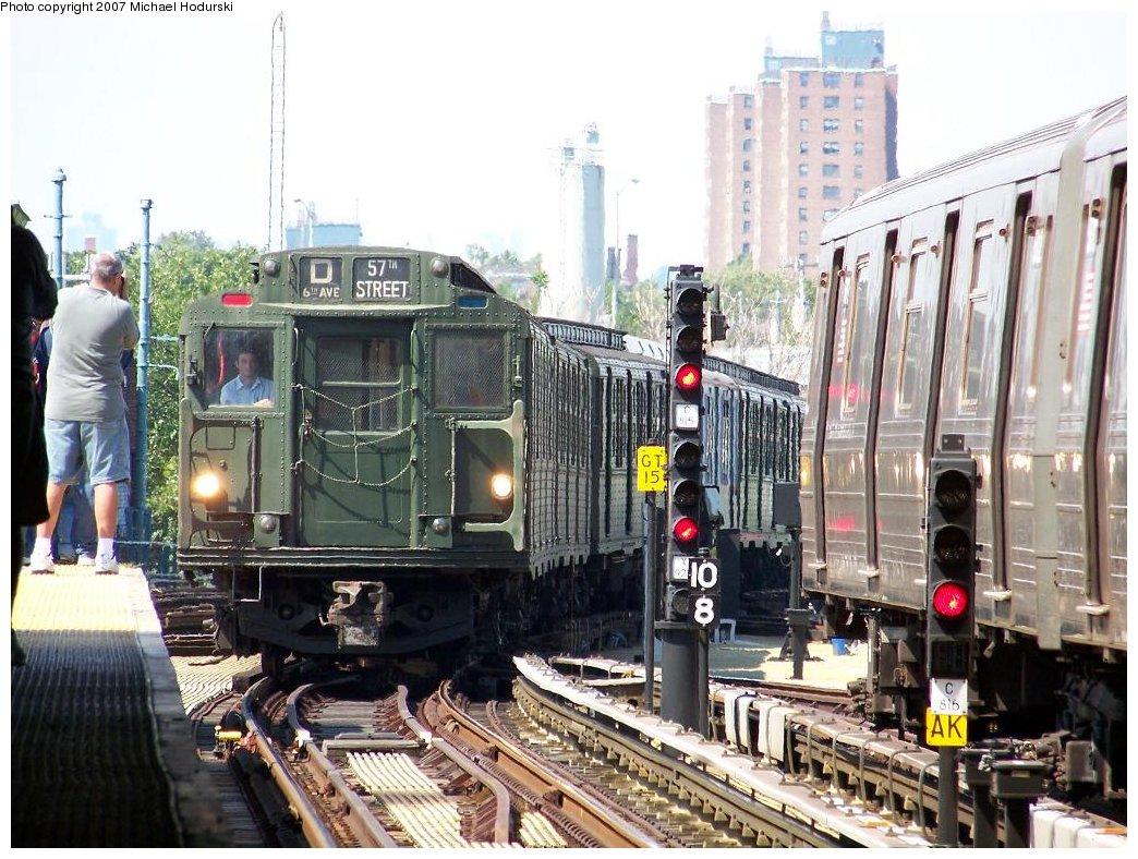 (223k, 1044x788)<br><b>Country:</b> United States<br><b>City:</b> New York<br><b>System:</b> New York City Transit<br><b>Location:</b> Coney Island/Stillwell Avenue<br><b>Route:</b> Fan Trip<br><b>Car:</b> R-9 (Pressed Steel, 1940)  1802 <br><b>Photo by:</b> Michael Hodurski<br><b>Date:</b> 8/12/2007<br><b>Viewed (this week/total):</b> 0 / 2045