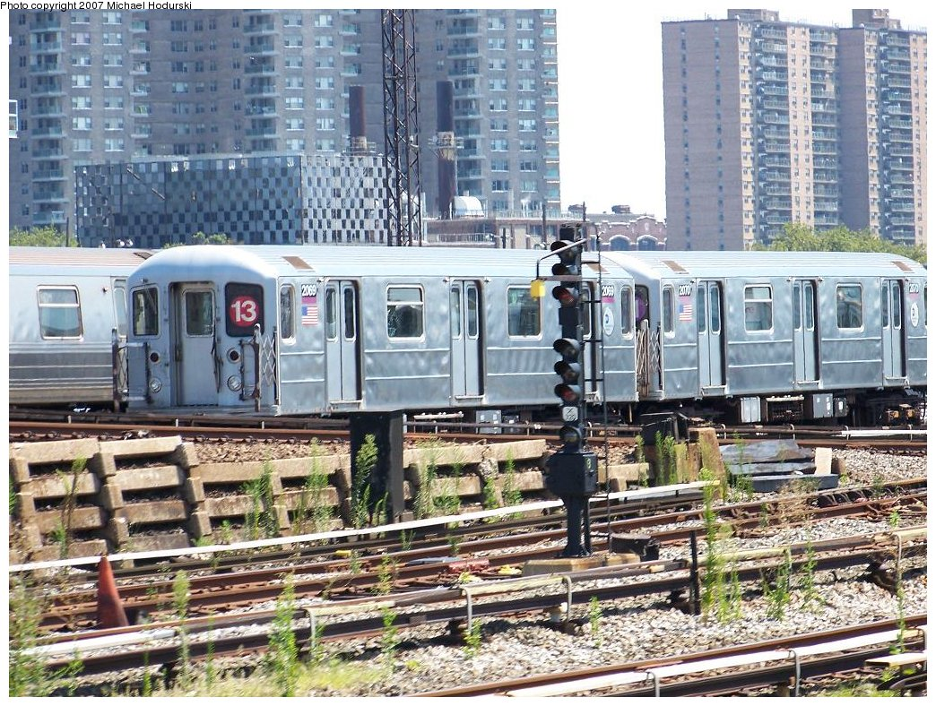(282k, 1044x788)<br><b>Country:</b> United States<br><b>City:</b> New York<br><b>System:</b> New York City Transit<br><b>Location:</b> Coney Island Yard<br><b>Car:</b> R-62A (Bombardier, 1984-1987)  2069 <br><b>Photo by:</b> Michael Hodurski<br><b>Date:</b> 8/12/2007<br><b>Viewed (this week/total):</b> 0 / 2717