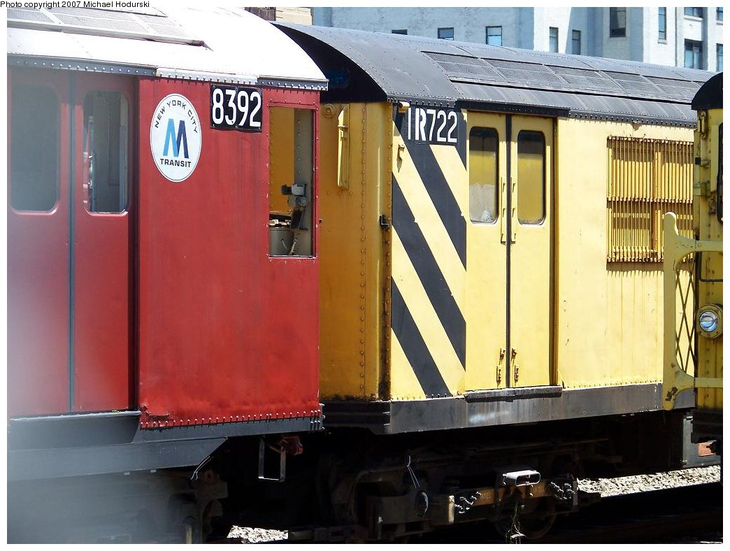 (176k, 1044x788)<br><b>Country:</b> United States<br><b>City:</b> New York<br><b>System:</b> New York City Transit<br><b>Line:</b> South Brooklyn Railway<br><b>Location:</b> SBK Yard (2nd Ave at 38th St.) (SBK)<br><b>Car:</b> R-95 Locker Car (Revenue Train) 1R722 (ex-7459)<br><b>Photo by:</b> Michael Hodurski<br><b>Date:</b> 7/12/2007<br><b>Viewed (this week/total):</b> 2 / 1771
