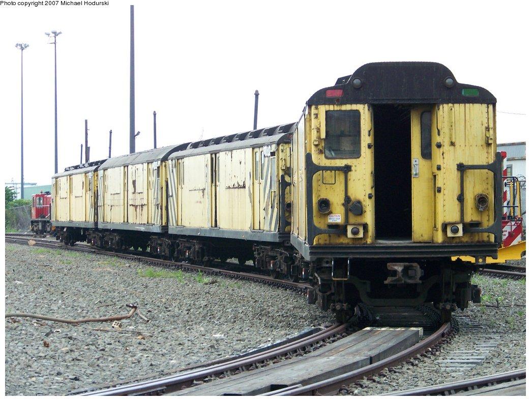 (194k, 1044x788)<br><b>Country:</b> United States<br><b>City:</b> New York<br><b>System:</b> New York City Transit<br><b>Line:</b> South Brooklyn Railway<br><b>Location:</b> SBK Yard (2nd Ave at 38th St.) (SBK)<br><b>Car:</b> R-71 Rider Car (R-17/R-21/R-22 Rebuilds)  RD323 (ex-5877)<br><b>Photo by:</b> Michael Hodurski<br><b>Date:</b> 7/19/2007<br><b>Viewed (this week/total):</b> 0 / 2102
