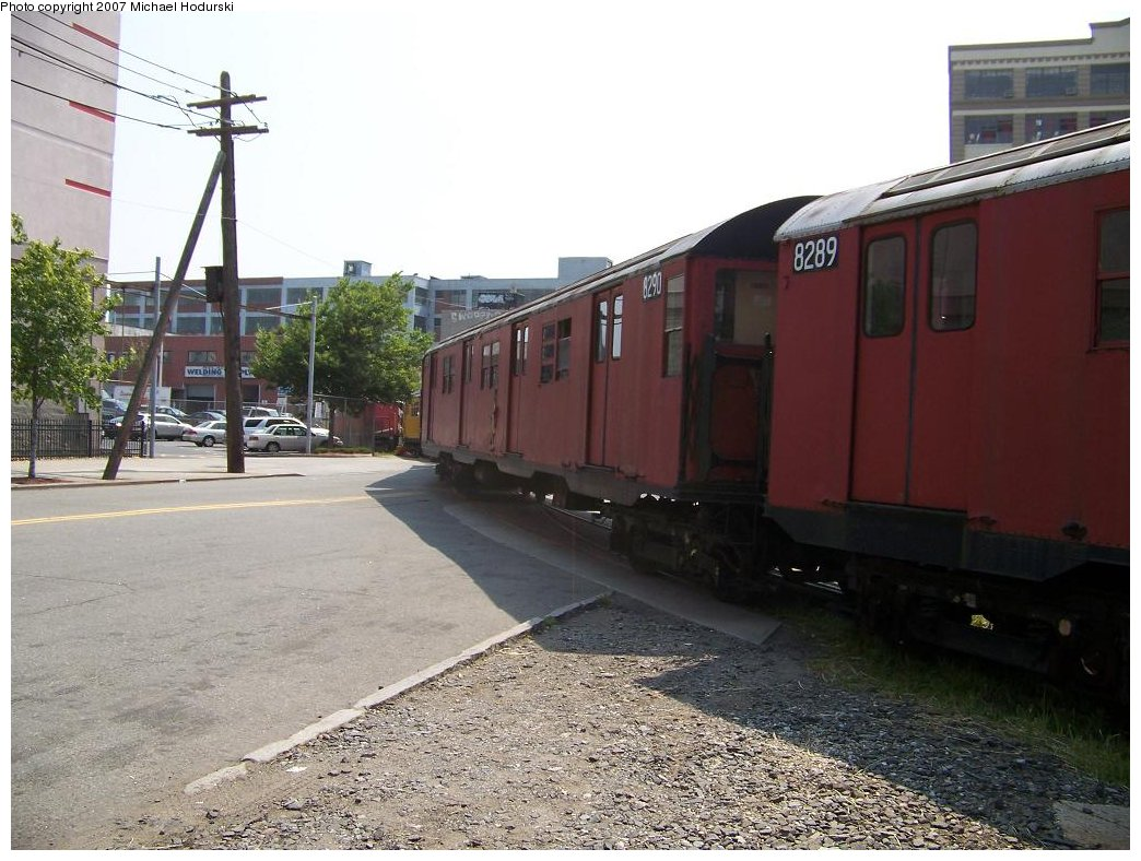 (183k, 1044x788)<br><b>Country:</b> United States<br><b>City:</b> New York<br><b>System:</b> New York City Transit<br><b>Line:</b> South Brooklyn Railway<br><b>Location:</b> 2nd Avenue (SBK)<br><b>Car:</b> R-30 (St. Louis, 1961) 8290 <br><b>Photo by:</b> Michael Hodurski<br><b>Date:</b> 7/17/2007<br><b>Viewed (this week/total):</b> 1 / 2319