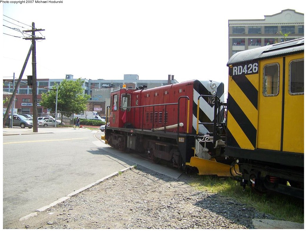(205k, 1044x788)<br><b>Country:</b> United States<br><b>City:</b> New York<br><b>System:</b> New York City Transit<br><b>Line:</b> South Brooklyn Railway<br><b>Location:</b> 2nd Avenue (SBK)<br><b>Car:</b> R-47 (SBK) Locomotive  N1 <br><b>Photo by:</b> Michael Hodurski<br><b>Date:</b> 7/17/2007<br><b>Viewed (this week/total):</b> 2 / 1555
