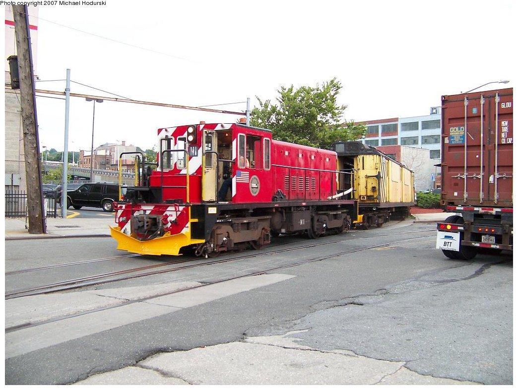 (201k, 1044x788)<br><b>Country:</b> United States<br><b>City:</b> New York<br><b>System:</b> New York City Transit<br><b>Line:</b> South Brooklyn Railway<br><b>Location:</b> 2nd Avenue (SBK)<br><b>Car:</b> R-47 (SBK) Locomotive  N1 <br><b>Photo by:</b> Michael Hodurski<br><b>Date:</b> 7/19/2007<br><b>Viewed (this week/total):</b> 0 / 1595