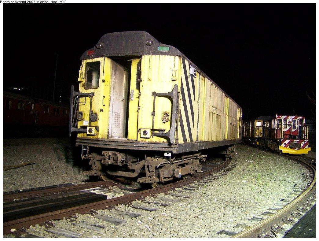(195k, 1044x788)<br><b>Country:</b> United States<br><b>City:</b> New York<br><b>System:</b> New York City Transit<br><b>Line:</b> South Brooklyn Railway<br><b>Location:</b> SBK Yard (2nd Ave at 38th St.) (SBK)<br><b>Car:</b> R-71 Rider Car (R-17/R-21/R-22 Rebuilds)  RD323 (ex-5877)<br><b>Photo by:</b> Michael Hodurski<br><b>Date:</b> 7/18/2007<br><b>Viewed (this week/total):</b> 0 / 2210