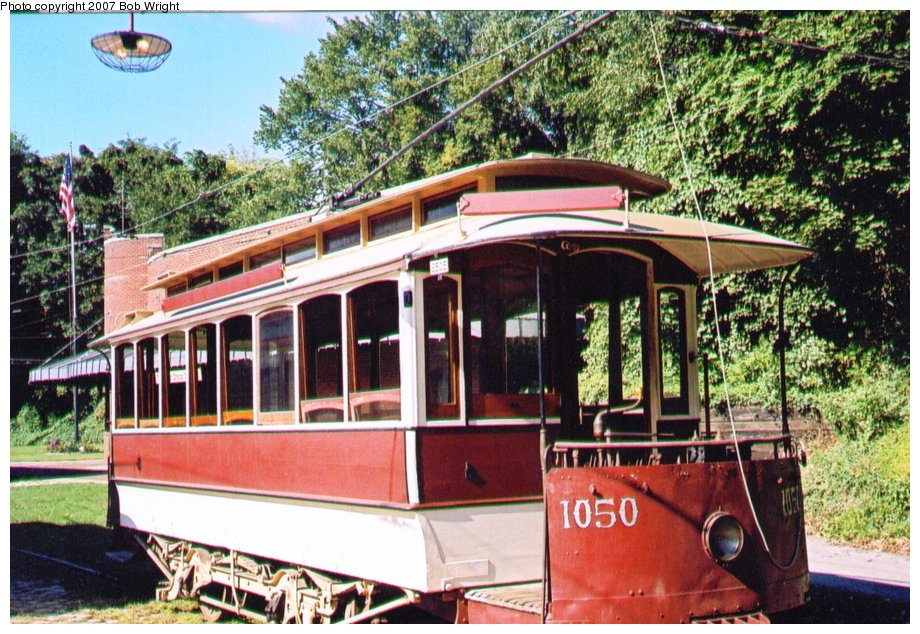 (178k, 920x634)<br><b>Country:</b> United States<br><b>City:</b> Baltimore, MD<br><b>System:</b> Baltimore Streetcar Museum <br><b>Car:</b>  1050 <br><b>Photo by:</b> Bob Wright<br><b>Date:</b> 10/2004<br><b>Viewed (this week/total):</b> 2 / 903
