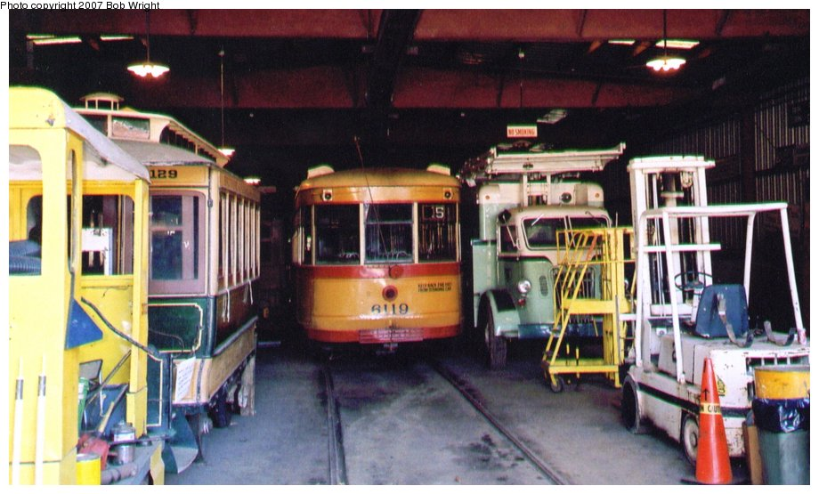 (113k, 920x555)<br><b>Country:</b> United States<br><b>City:</b> Baltimore, MD<br><b>System:</b> Baltimore Streetcar Museum <br><b>Car:</b>  6119 <br><b>Photo by:</b> Bob Wright<br><b>Date:</b> 10/2004<br><b>Viewed (this week/total):</b> 1 / 1106
