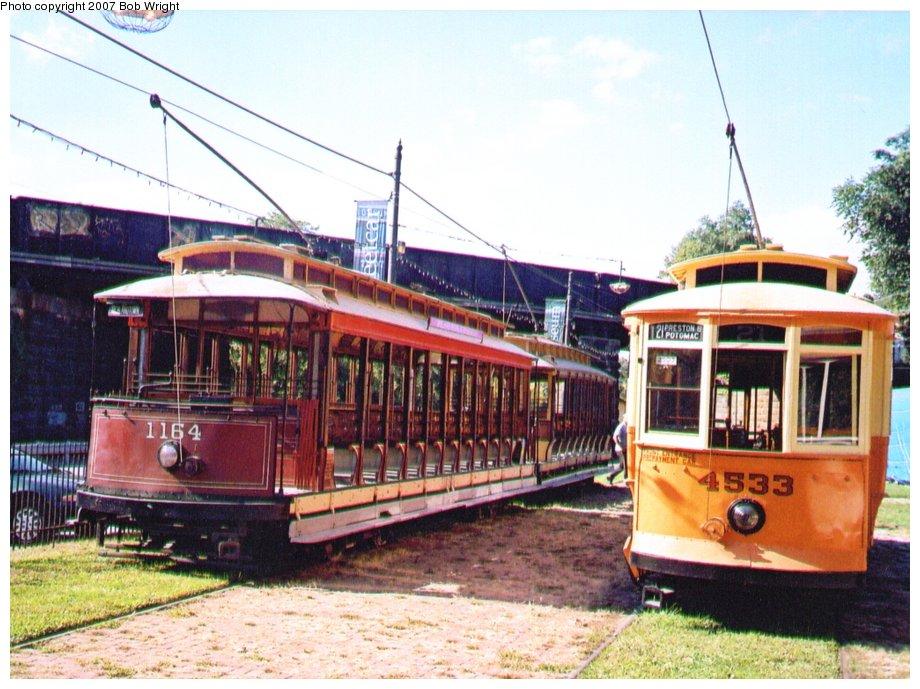 (142k, 920x689)<br><b>Country:</b> United States<br><b>City:</b> Baltimore, MD<br><b>System:</b> Baltimore Streetcar Museum <br><b>Car:</b>  1164/4533 <br><b>Photo by:</b> Bob Wright<br><b>Date:</b> 10/2004<br><b>Viewed (this week/total):</b> 0 / 926