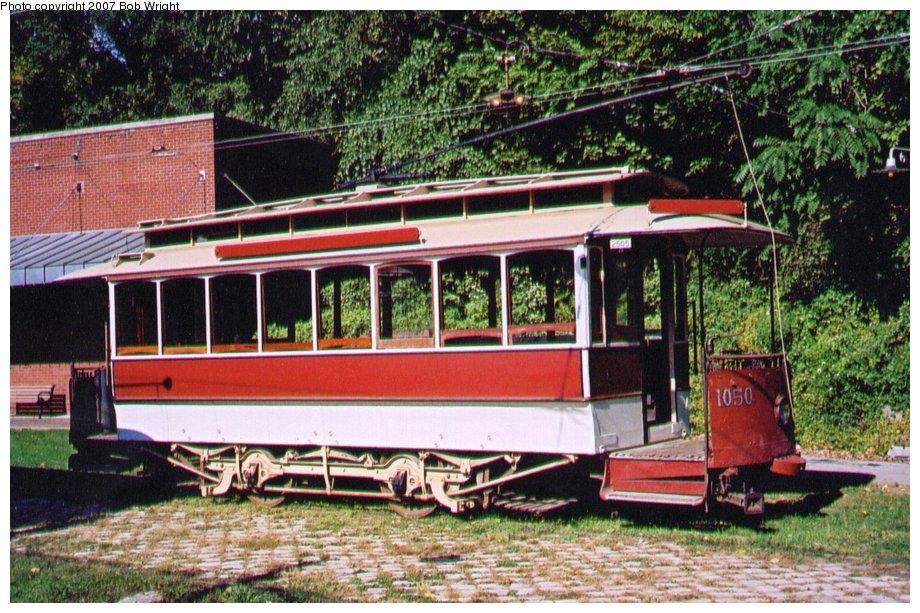 (173k, 920x613)<br><b>Country:</b> United States<br><b>City:</b> Baltimore, MD<br><b>System:</b> Baltimore Streetcar Museum <br><b>Car:</b>  1050 <br><b>Photo by:</b> Bob Wright<br><b>Date:</b> 10/2004<br><b>Viewed (this week/total):</b> 1 / 965
