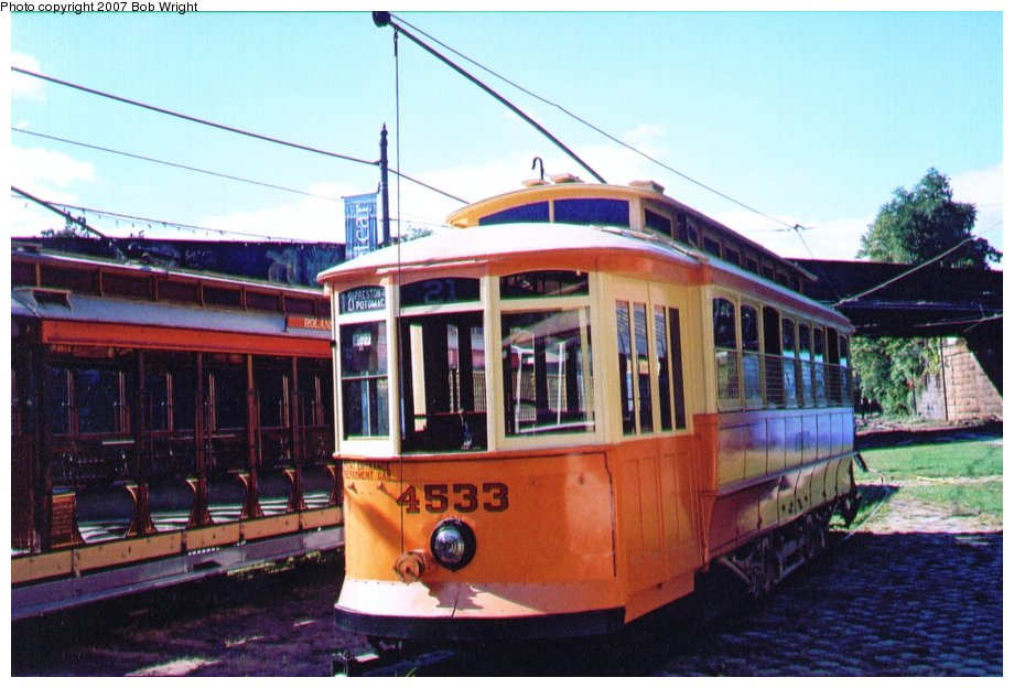 (120k, 920x624)<br><b>Country:</b> United States<br><b>City:</b> Baltimore, MD<br><b>System:</b> Baltimore Streetcar Museum <br><b>Car:</b>  4533 <br><b>Photo by:</b> Bob Wright<br><b>Date:</b> 10/2004<br><b>Viewed (this week/total):</b> 0 / 799