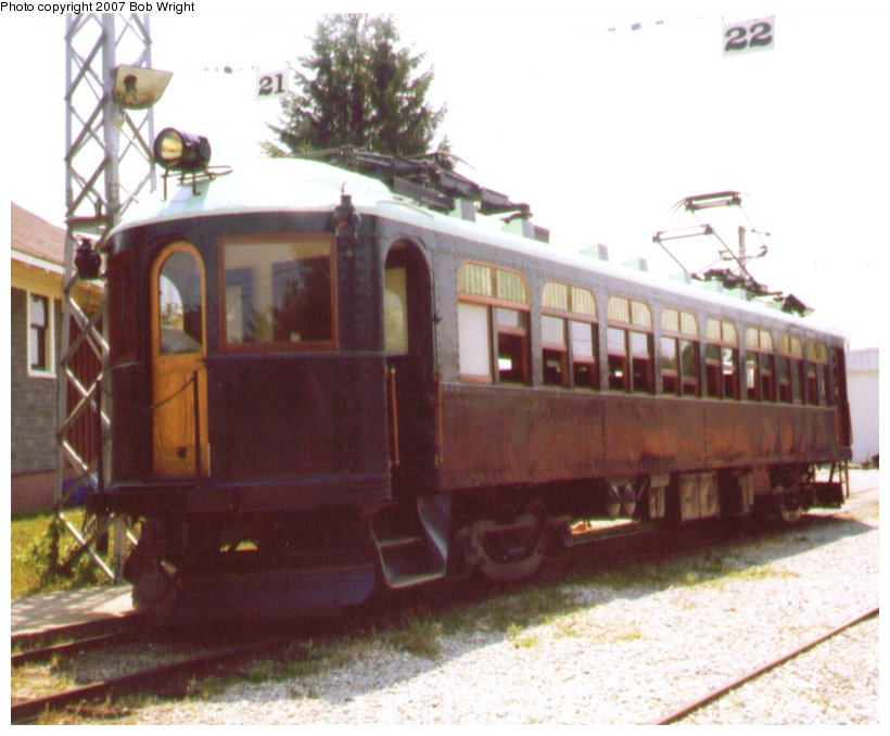 (89k, 820x678)<br><b>Country:</b> Canada<br><b>City:</b> Toronto<br><b>System:</b> Halton County Radial Railway <br><b>Photo by:</b> Bob Wright<br><b>Date:</b> 7/1999<br><b>Viewed (this week/total):</b> 0 / 1076