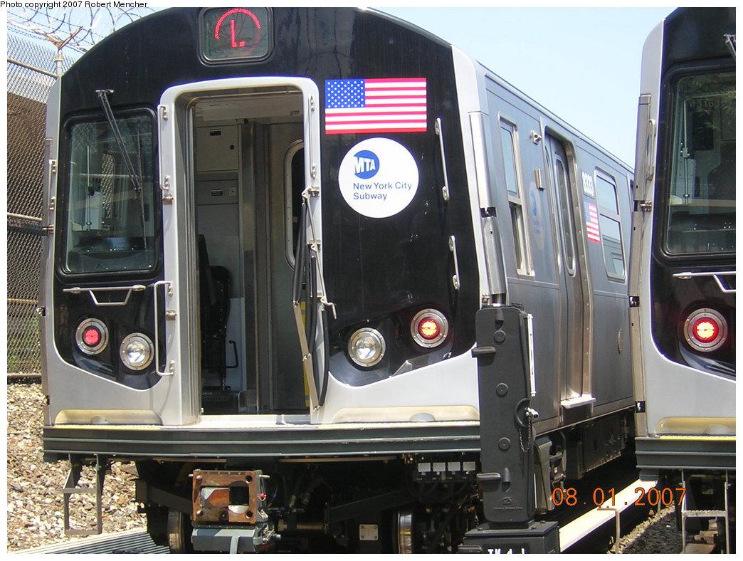 (229k, 1044x788)<br><b>Country:</b> United States<br><b>City:</b> New York<br><b>System:</b> New York City Transit<br><b>Location:</b> Rockaway Parkway (Canarsie) Yard<br><b>Car:</b> R-160A-1 (Alstom, 2005-2008, 4 car sets)  8333 <br><b>Photo by:</b> Robert Mencher<br><b>Date:</b> 8/1/2007<br><b>Viewed (this week/total):</b> 0 / 2059