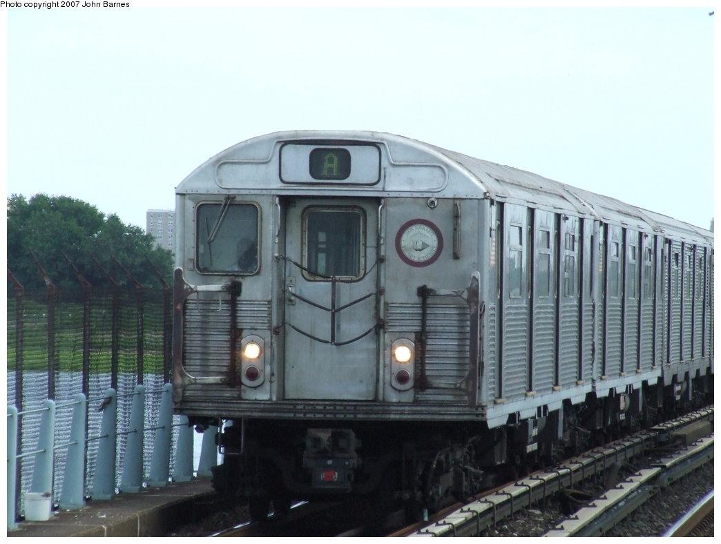 (145k, 1044x788)<br><b>Country:</b> United States<br><b>City:</b> New York<br><b>System:</b> New York City Transit<br><b>Line:</b> IND Rockaway<br><b>Location:</b> Broad Channel <br><b>Route:</b> A<br><b>Car:</b> R-38 (St. Louis, 1966-1967)  4141 <br><b>Photo by:</b> John Barnes<br><b>Date:</b> 7/22/2007<br><b>Viewed (this week/total):</b> 4 / 1594
