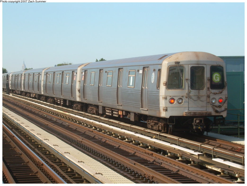 (201k, 1044x788)<br><b>Country:</b> United States<br><b>City:</b> New York<br><b>System:</b> New York City Transit<br><b>Line:</b> BMT Culver Line<br><b>Location:</b> Avenue I <br><b>Route:</b> G<br><b>Car:</b> R-46 (Pullman-Standard, 1974-75) 6040 <br><b>Photo by:</b> Zach Summer<br><b>Date:</b> 8/12/2007<br><b>Viewed (this week/total):</b> 7 / 1723