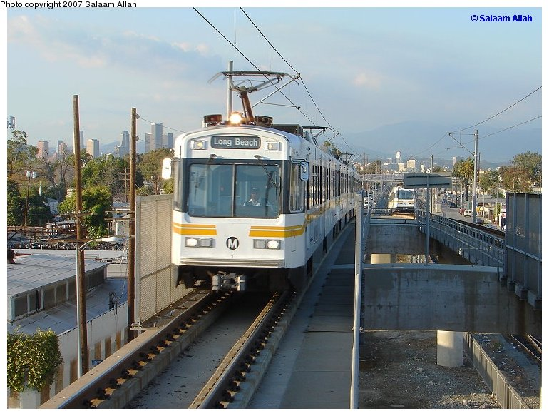 (128k, 770x583)<br><b>Country:</b> United States<br><b>City:</b> Los Angeles, CA<br><b>System:</b> Los Angeles County MTA<br><b>Line:</b> Metro Blue Line<br><b>Location:</b> Slauson<br><b>Car:</b> P850/P865 (Nippon Sharyo, 1989-1994) 144 <br><b>Photo by:</b> Salaam Allah<br><b>Date:</b> 8/15/2005<br><b>Viewed (this week/total):</b> 1 / 1145