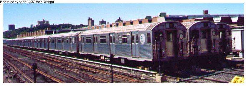(57k, 820x285)<br><b>Country:</b> United States<br><b>City:</b> New York<br><b>System:</b> New York City Transit<br><b>Location:</b> 207th Street Yard<br><b>Car:</b> R-38 (St. Louis, 1966-1967)   <br><b>Photo by:</b> Bob Wright<br><b>Date:</b> 8/24/2003<br><b>Viewed (this week/total):</b> 3 / 2202