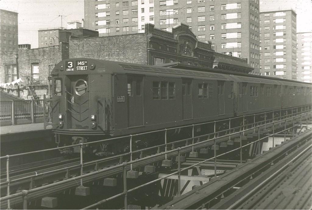 (204k, 1024x689)<br><b>Country:</b> United States<br><b>City:</b> New York<br><b>System:</b> New York City Transit<br><b>Line:</b> IRT Brooklyn Line<br><b>Location:</b> Rockaway Avenue <br><b>Route:</b> 3<br><b>Car:</b> R-17 (St. Louis, 1955-56) 6680 <br><b>Collection of:</b> Joe Testagrose<br><b>Viewed (this week/total):</b> 0 / 3000