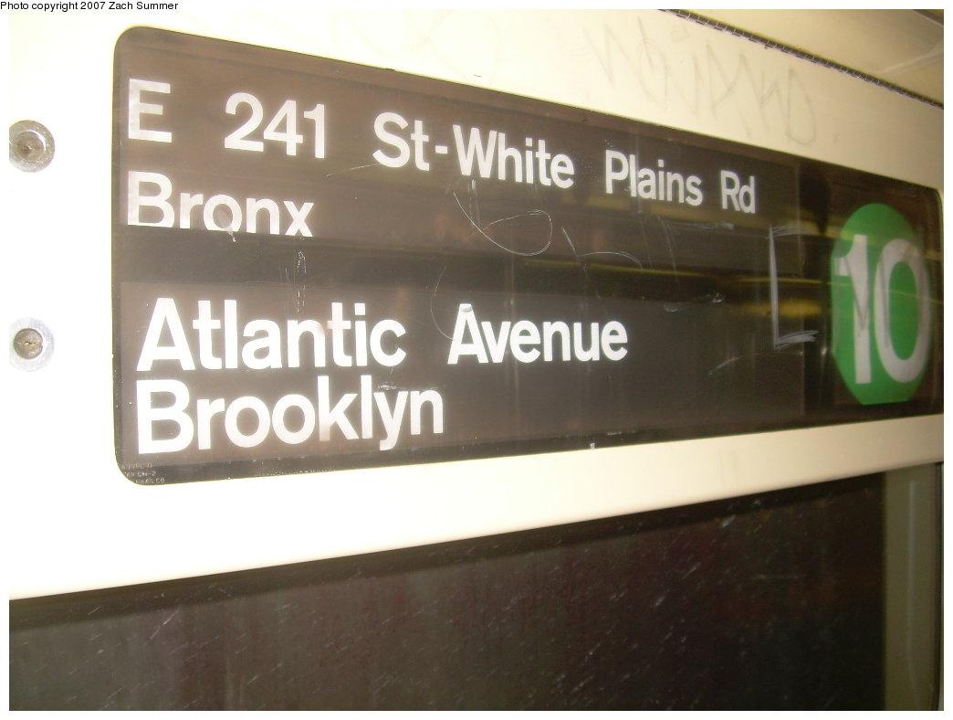 (139k, 1044x788)<br><b>Country:</b> United States<br><b>City:</b> New York<br><b>System:</b> New York City Transit<br><b>Route:</b> 1<br><b>Car:</b> R-62A (Bombardier, 1984-1987)  2469 <br><b>Photo by:</b> Zach Summer<br><b>Date:</b> 8/28/2007<br><b>Viewed (this week/total):</b> 1 / 3469