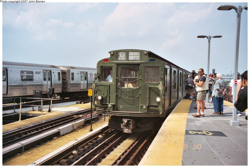 (150k, 1044x703)<br><b>Country:</b> United States<br><b>City:</b> New York<br><b>System:</b> New York City Transit<br><b>Location:</b> Coney Island/Stillwell Avenue<br><b>Route:</b> Fan Trip<br><b>Car:</b> R-9 (Pressed Steel, 1940)  1802 <br><b>Photo by:</b> John Barnes<br><b>Date:</b> 8/20/2006<br><b>Viewed (this week/total):</b> 1 / 1807