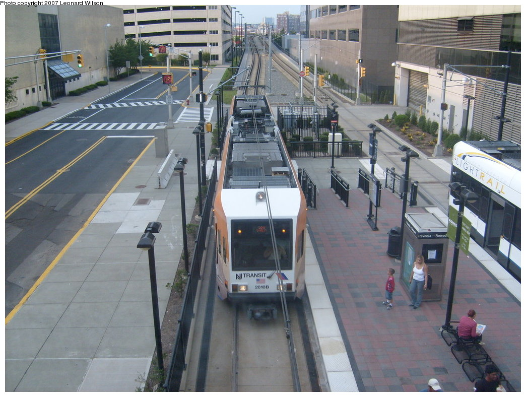(223k, 1044x788)<br><b>Country:</b> United States<br><b>City:</b> Jersey City, NJ<br><b>System:</b> Hudson Bergen Light Rail<br><b>Location:</b> Pavonia/Newport <br><b>Car:</b> NJT-HBLR LRV (Kinki-Sharyo, 1998-99)  2010 <br><b>Photo by:</b> Leonard Wilson<br><b>Date:</b> 9/8/2007<br><b>Viewed (this week/total):</b> 0 / 2138