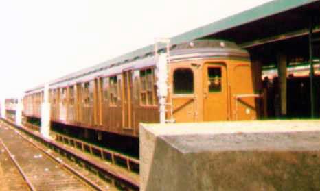 (47k, 466x279)<br><b>Country:</b> United States<br><b>City:</b> New York<br><b>System:</b> New York City Transit<br><b>Line:</b> IND Rockaway<br><b>Location:</b> Rockaway Park/Beach 116th Street <br><b>Route:</b> Fan Trip<br><b>Car:</b> BMT A/B-Type Standard 2390-2391-2392 <br><b>Photo by:</b> Bob Wright<br><b>Date:</b> 7/15/1978<br><b>Viewed (this week/total):</b> 0 / 1700