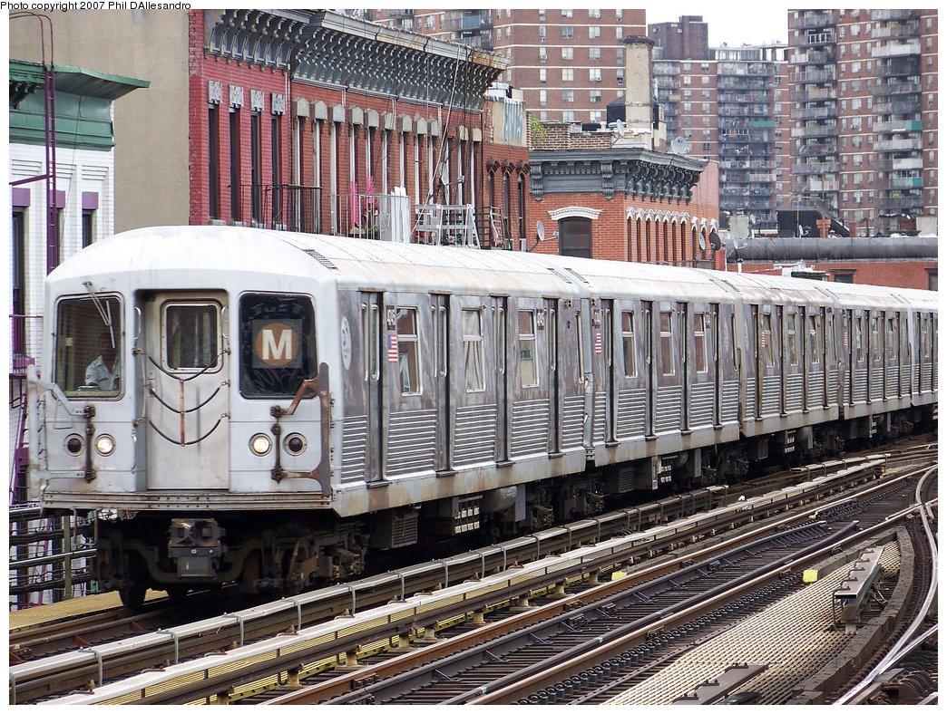 (292k, 1044x788)<br><b>Country:</b> United States<br><b>City:</b> New York<br><b>System:</b> New York City Transit<br><b>Line:</b> BMT Nassau Street/Jamaica Line<br><b>Location:</b> Marcy Avenue <br><b>Route:</b> M<br><b>Car:</b> R-42 (St. Louis, 1969-1970)  4745 <br><b>Photo by:</b> Philip D'Allesandro<br><b>Date:</b> 9/13/2007<br><b>Viewed (this week/total):</b> 0 / 1531