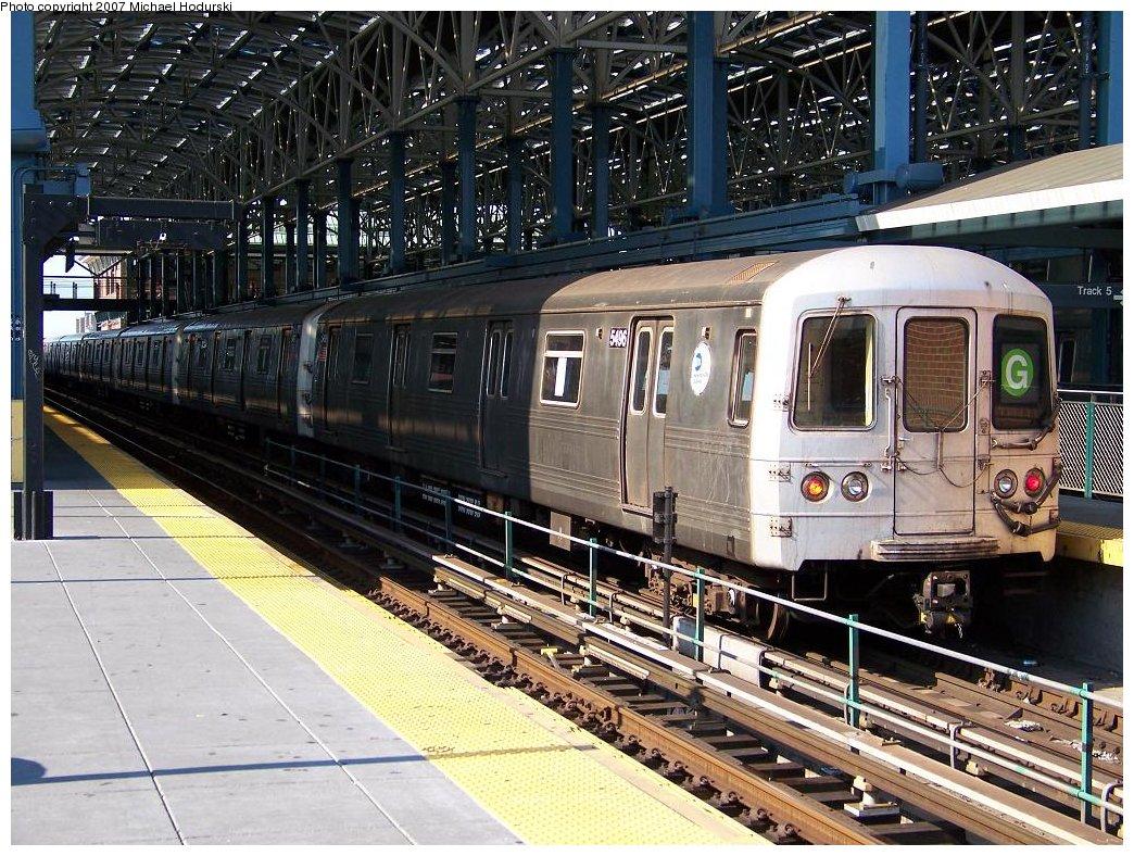 (260k, 1044x788)<br><b>Country:</b> United States<br><b>City:</b> New York<br><b>System:</b> New York City Transit<br><b>Location:</b> Coney Island/Stillwell Avenue<br><b>Route:</b> G<br><b>Car:</b> R-46 (Pullman-Standard, 1974-75) 5496 <br><b>Photo by:</b> Michael Hodurski<br><b>Date:</b> 8/11/2007<br><b>Viewed (this week/total):</b> 1 / 1492