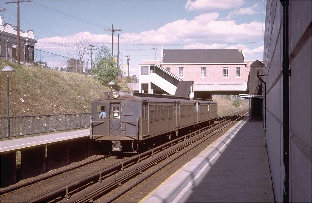 (206k, 1024x667)<br><b>Country:</b> United States<br><b>City:</b> New York<br><b>System:</b> New York City Transit<br><b>Line:</b> SIRT<br><b>Location:</b> New Dorp <br><b>Car:</b> SIRT ME-1 (Motor) 369 <br><b>Photo by:</b> Steve Zabel<br><b>Collection of:</b> Joe Testagrose<br><b>Date:</b> 10/15/1972<br><b>Viewed (this week/total):</b> 2 / 2281