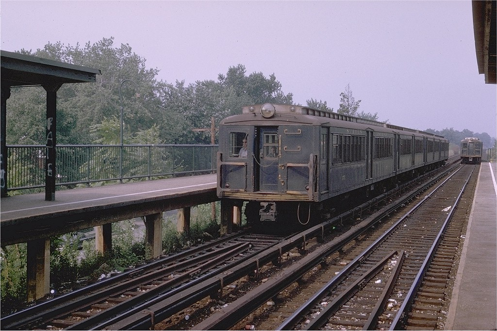 (259k, 1024x682)<br><b>Country:</b> United States<br><b>City:</b> New York<br><b>System:</b> New York City Transit<br><b>Line:</b> SIRT<br><b>Location:</b> Eltingville <br><b>Car:</b> SIRT ME-1 (Motor) 371 <br><b>Photo by:</b> Joe Testagrose<br><b>Date:</b> 7/19/1970<br><b>Viewed (this week/total):</b> 3 / 2468