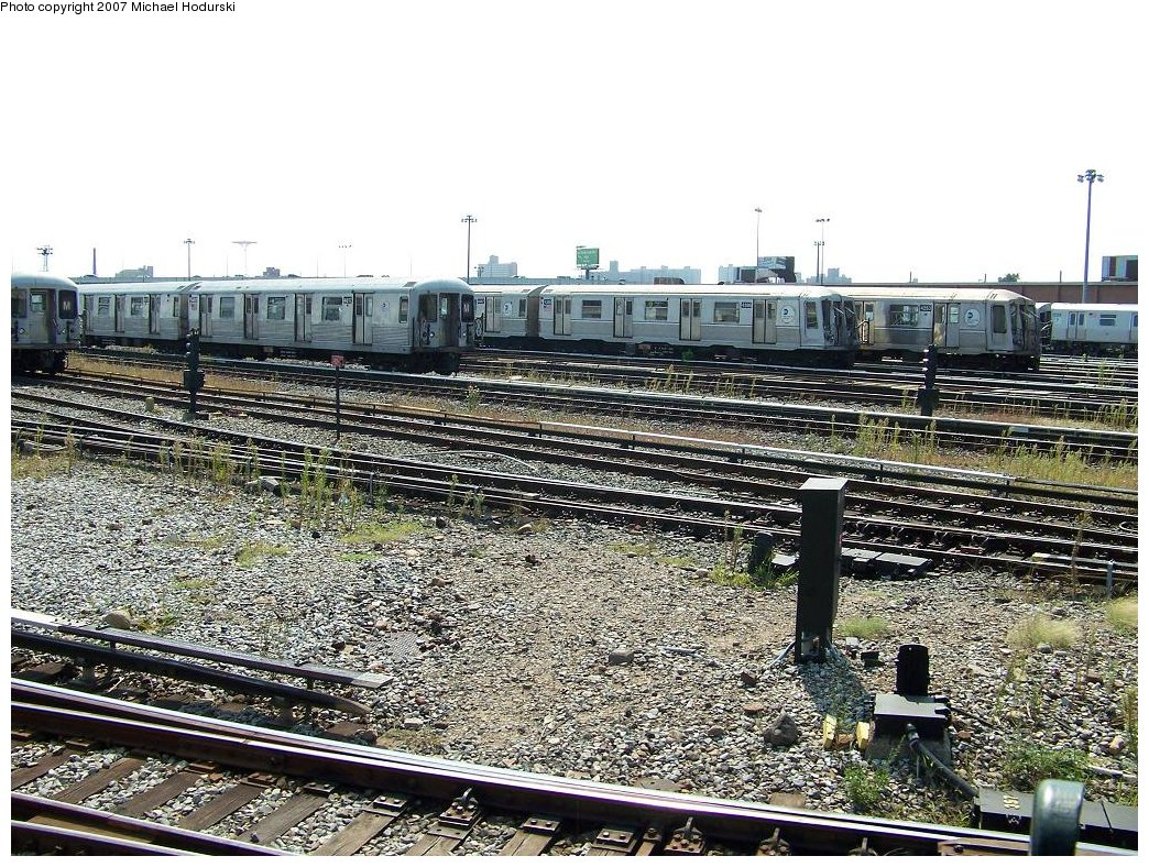 (295k, 1044x788)<br><b>Country:</b> United States<br><b>City:</b> New York<br><b>System:</b> New York City Transit<br><b>Location:</b> Coney Island Yard<br><b>Car:</b> R-40 (St. Louis, 1968)  4366 <br><b>Photo by:</b> Michael Hodurski<br><b>Date:</b> 9/8/2007<br><b>Viewed (this week/total):</b> 0 / 1642