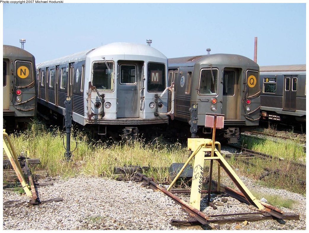 (276k, 1044x788)<br><b>Country:</b> United States<br><b>City:</b> New York<br><b>System:</b> New York City Transit<br><b>Location:</b> Coney Island Yard<br><b>Car:</b> R-42 (St. Louis, 1969-1970)  4621 <br><b>Photo by:</b> Michael Hodurski<br><b>Date:</b> 9/8/2007<br><b>Viewed (this week/total):</b> 0 / 2549