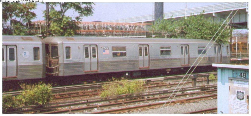 (100k, 1044x485)<br><b>Country:</b> United States<br><b>City:</b> New York<br><b>System:</b> New York City Transit<br><b>Location:</b> Coney Island/Stillwell Avenue<br><b>Route:</b> D<br><b>Car:</b> R-68 (Westinghouse-Amrail, 1986-1988)  2502 <br><b>Photo by:</b> Bob Wright<br><b>Date:</b> 8/20/2006<br><b>Viewed (this week/total):</b> 0 / 1847