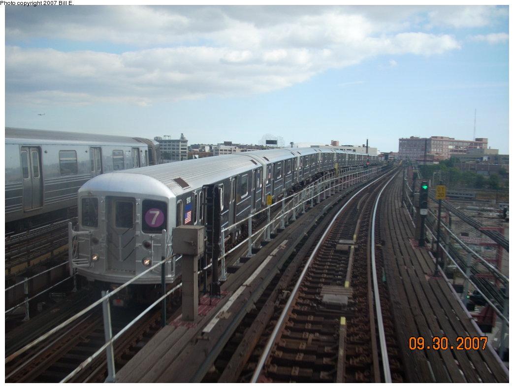 (165k, 1044x788)<br><b>Country:</b> United States<br><b>City:</b> New York<br><b>System:</b> New York City Transit<br><b>Line:</b> IRT Flushing Line<br><b>Location:</b> Queensborough Plaza <br><b>Route:</b> 7<br><b>Car:</b> R-62A (Bombardier, 1984-1987)  1810 <br><b>Photo by:</b> Bill E.<br><b>Date:</b> 9/30/2007<br><b>Viewed (this week/total):</b> 0 / 2141