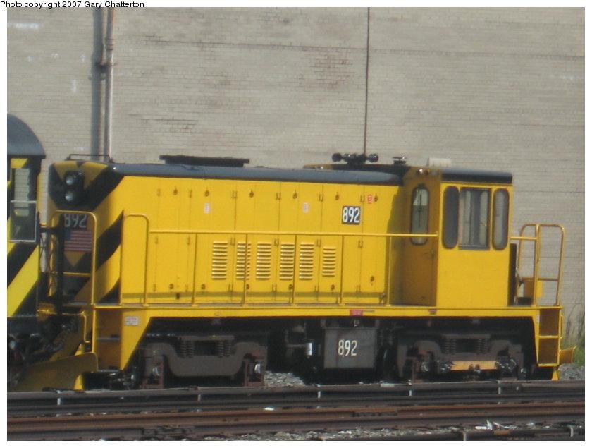 (91k, 840x635)<br><b>Country:</b> United States<br><b>City:</b> New York<br><b>System:</b> New York City Transit<br><b>Location:</b> Coney Island Yard<br><b>Car:</b> R-77 Locomotive  892 <br><b>Photo by:</b> Gary Chatterton<br><b>Date:</b> 9/8/2007<br><b>Viewed (this week/total):</b> 0 / 990