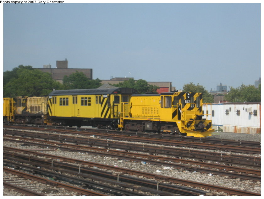 (103k, 840x635)<br><b>Country:</b> United States<br><b>City:</b> New York<br><b>System:</b> New York City Transit<br><b>Location:</b> Coney Island Yard<br><b>Car:</b> R-77 Locomotive  892 <br><b>Photo by:</b> Gary Chatterton<br><b>Date:</b> 9/8/2007<br><b>Viewed (this week/total):</b> 0 / 1010