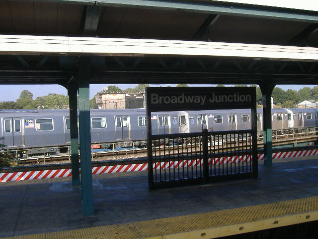 (74k, 640x480)<br><b>Country:</b> United States<br><b>City:</b> New York<br><b>System:</b> New York City Transit<br><b>Location:</b> East New York Yard/Shops<br><b>Car:</b> R-160A-1 (Alstom, 2005-2008, 4 car sets)  8344/8343 <br><b>Photo by:</b> Craig Williams<br><b>Date:</b> 10/2006<br><b>Viewed (this week/total):</b> 0 / 2623