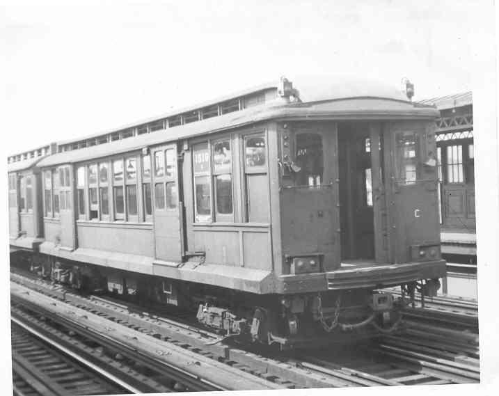 (25k, 717x569)<br><b>Country:</b> United States<br><b>City:</b> New York<br><b>System:</b> New York City Transit<br><b>Line:</b> BMT West End Line<br><b>Location:</b> 20th Avenue <br><b>Car:</b> BMT C 1518 <br><b>Photo by:</b> Frank Pfuhler<br><b>Date:</b> 8/23/1953<br><b>Viewed (this week/total):</b> 0 / 1843