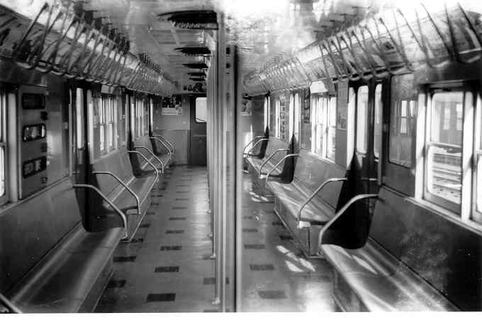 (28k, 680x452)<br><b>Country:</b> United States<br><b>City:</b> New York<br><b>System:</b> New York City Transit<br><b>Car:</b> R-27 (St. Louis, 1960)  8023 <br><b>Photo by:</b> Frank Pfuhler<br><b>Date:</b> 11/26/1960<br><b>Viewed (this week/total):</b> 0 / 3423
